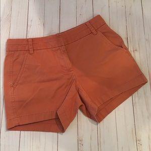 J.Crew Chino Salmon Shorts